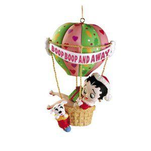 Betty Boop Carlton Cards hot air balloon ornament